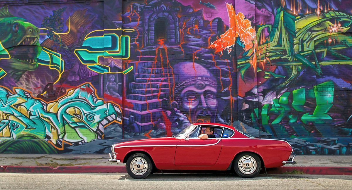 This beautiful 1966 Volvo P1800 Coupé has been driven over 3 million miles [via Petrolicious]
